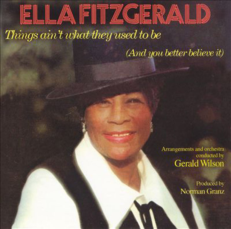 Ella Fitzgerald Things Ain T What They Used To Be Japan